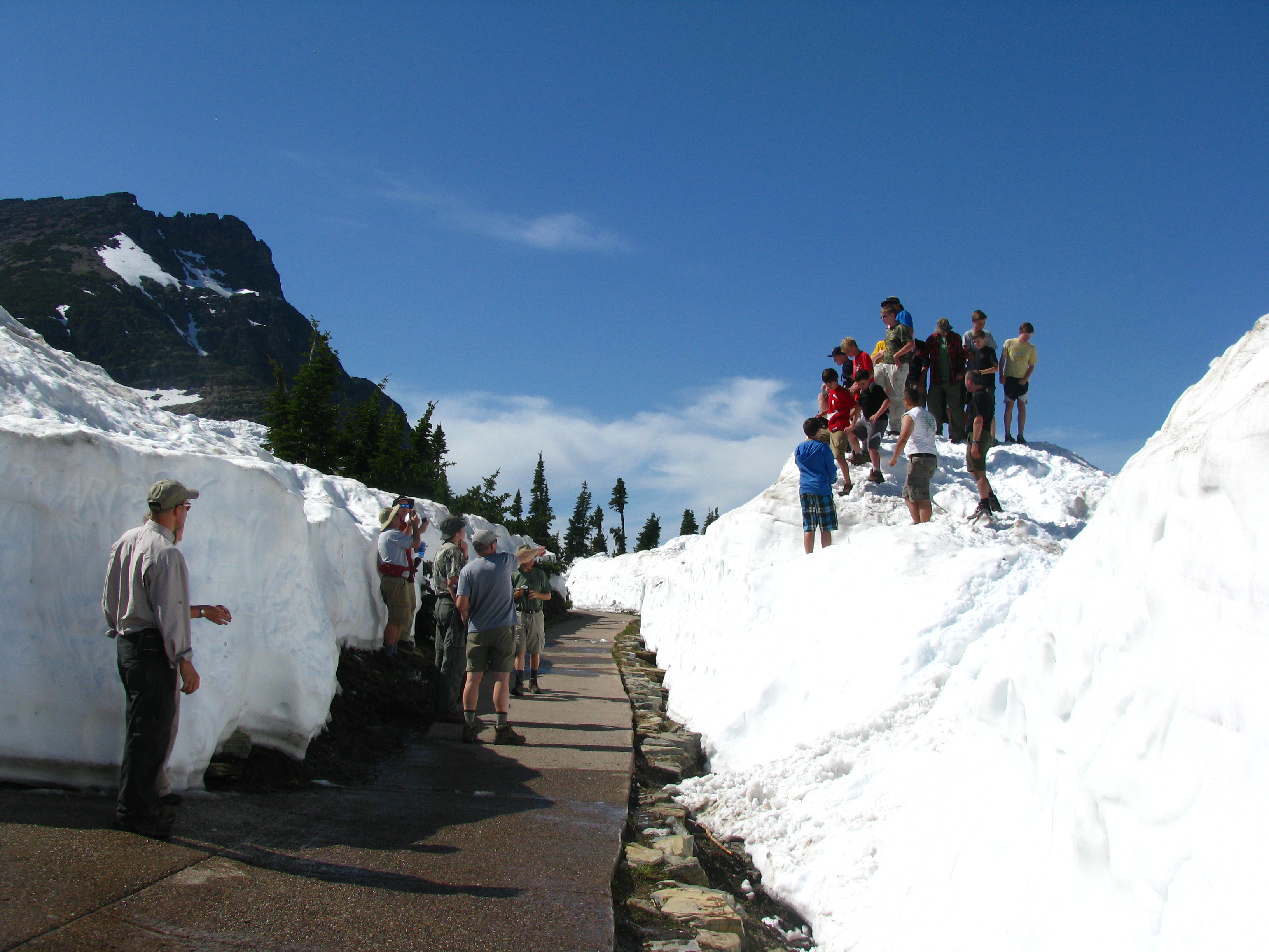 It didn't take long for word to get out that the Going-to-the-Sun Road ...
